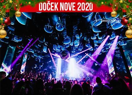 Docek Nove godine 2020 Beograd Klub Hype baner