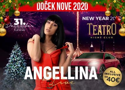 Docek Nove godine 2020 Beograd Klub Teatro baner