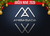 Docek Nove godine Beograd 2020 Ambasada baner