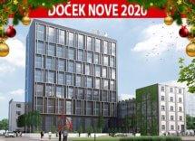 Docek Nove 2020. godine Hotel Mona