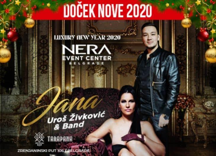 Jana i Uroš Živković - doček Nove godine 2020