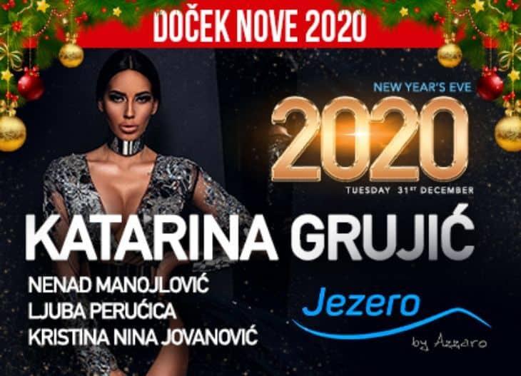 Katarina Grujić doček Nove godine 2020