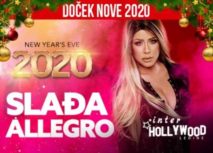 Sladja Alegro najava - doček nove godine 2020.