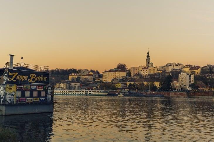 Fotografije Beograda sa reke