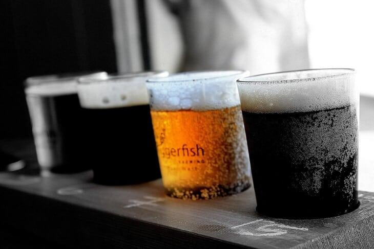 Krigle tamnog i svetlog piva