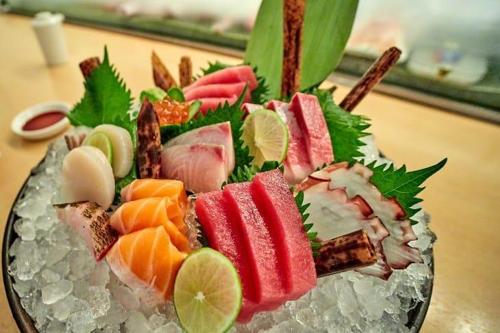 Ukrašena morska hrana