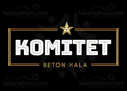 Klub Komitet Beton hala Beograd