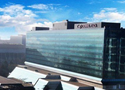 Hotel Crowne Plaza doček Nove godine 2022 Beograd