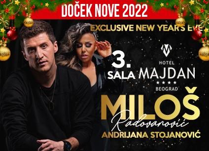 Hotel Majdan sala 3 doček Nove godine 2022 Beograd