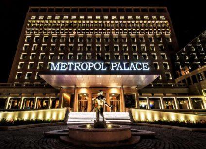 Hotel Metropol Palace doček Nove godine 2022 Beograd
