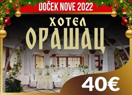 Hotel Orašac doček Nove godine 2022 Beograd