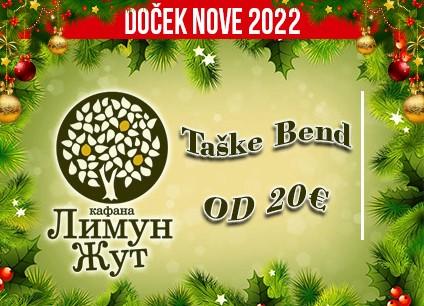 Kafana Limun Žut doček Nove godine 2022 Beograd
