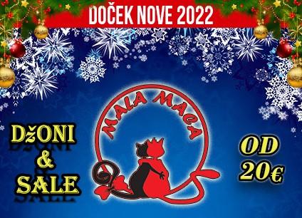 Kafana Mala Maca doček Nove godine 2022 Beograd