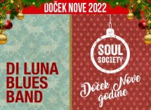 Klub Soul Society doček Nove godine 2022 Beograd