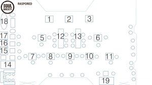 Klub Soul Society mapa sa rasporedom stolova za doček Nove godine 2022 Beograd