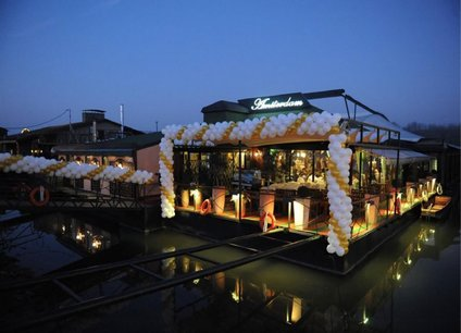 Restoran splav Amsterdam doček Nove godine 2022 Beograd