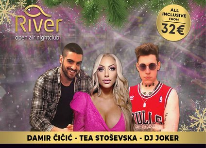 Splav River doček Nove godine 2022 Beograd