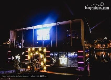 Splav Tag doček Nove godine 2022 Beograd