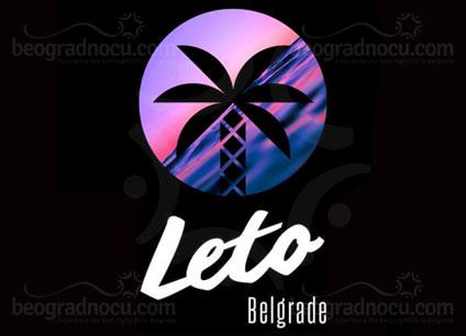 Splav Leto Beograd