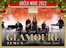 Glamoure Event Centar doček Nove godine 2022 Beograd