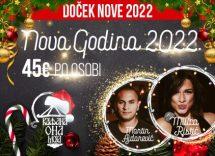 Kafana Ona Moja doček Nove godine 2022 Beograd