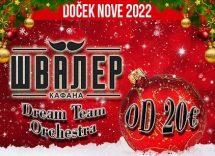Kafana Švaler doček Nove godine 2022 Beograd