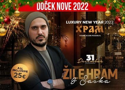 Klub Hram doček Nove godine 2022 Beograd