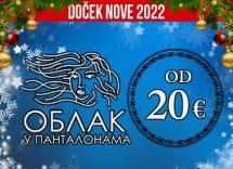 Pivnica Oblak U Pantalonama doček Nove godine 2022 Beograd