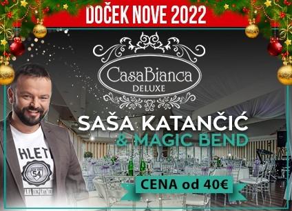 Restoran Casa Bianca doček Nove godine 2022 Beograd