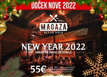 Restoran Magaza doček Nove godine 2022 Beograd