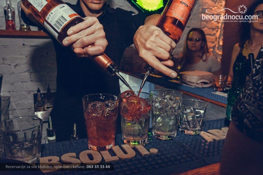 Industrija Bar Beograd kokteli