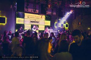 Klub Komitet Beton hala Beograd žurka