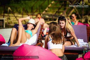 Splav Molti Baci Beograd sunčanje